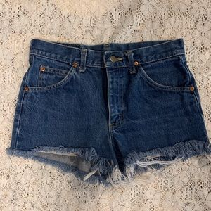 Vintage LEE High Waisted Cut Off Shorts